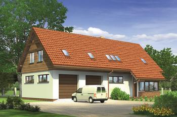 Budynek garażowo-magazynowy z poddaszem mieszkalnym